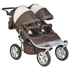 Valco Baby TRU1054, Twin Tri Mode Strollers - Hot Chocolate
