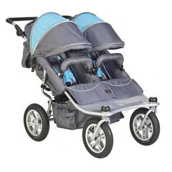 Valco Baby TRU1053, Twin Tri Mode Strollers - Arctic