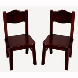 Guidecraft G86203, Classic Espresso Extra Chairs (Set of 2)