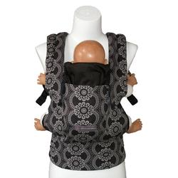 ERGObaby Petunia Pickle Bottom Organic Baby Carrier, BCO001PPB84/Evening in Innsbruck (blk/grey)