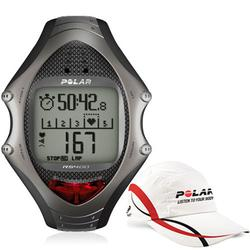 Polar 99043495, RS-400 Heart Rate Monitor with Polar Race Hat