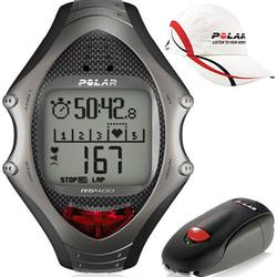 Polar 99043496, RS-400SD Heart Rate Monitor With S1 Foot Pod and Polar Race Hat