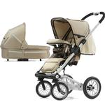 Mutsy 4Rider Light Newborn Stroller System - Active Champagne