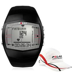 Polar 99043501, FT40 Heart Rate Monitor, Male Black with Polar Race Hat