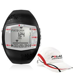 Polar 99043502, FT40F Heart Rate Monitor, Female Black with Polar Race Hat