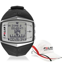 Polar 99043504, FT60F Heart Rate MonitorFemale - Black with Polar Race Hat