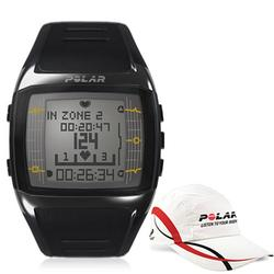 Polar 99043506, FT60M Heart Rate Monitor, Male Black with Polar Race Hat