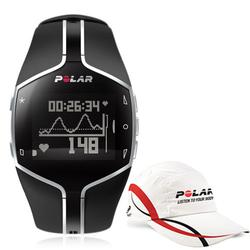 Polar 99043492, FT80 Heart Rate Monitor, Black with Polar Race Hat