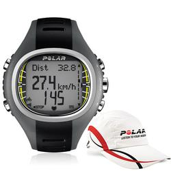 Polar 99043513, CS-300 Cycling Computer Heart Rate Monitor with Polar Race Hat