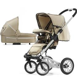 Mutsy 4Rider Single Spoke Newborn Stroller System - Active Champagne