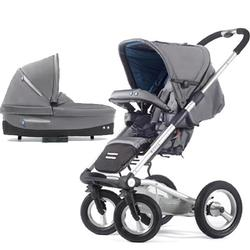 Mutsy 4Rider Single Spoke Newborn Stroller System - Cargo Grey