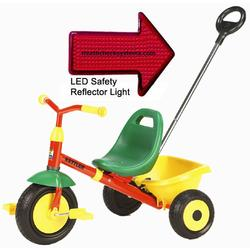 Kettler 8152-599 Junior Kettrike Tricycle with Pushbar and LED Reflector Light
