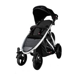Phil & Teds VERVEBLKKIT Verve Stroller with Doubles Kit in Black