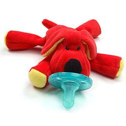 Wubbanub WN21196 - Red Dog Pacifier