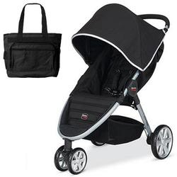 Britax B-Agile with matching Diaper Bag in Black