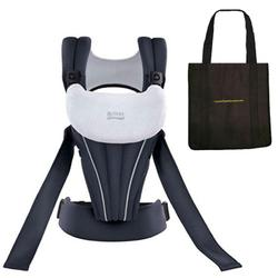 Britax K011002KIT1 - Front Soft Baby Carrier in Navy with a Black Tote Carry Bag