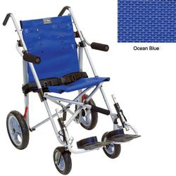 Convaid EZ18 900351-903463 EZ Rider 10 Degree Fixed Tilt Special Needs Stroller - Ocean Blue