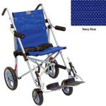 Convaid EZ18 900351-903464 EZ Rider 10 Degree Fixed Tilt Special Needs Stroller - Navy Blue