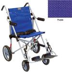 Convaid EZ18 900351-903465 EZ Rider 10 Degree Fixed Tilt Special Needs Stroller - Purple