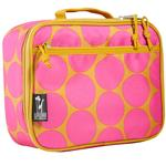 Wildkin 33118 Big Dots Hot Pink Lunch Box