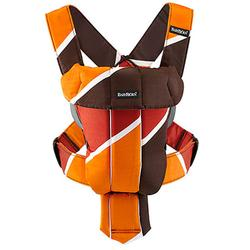 Baby Bjorn 023040US Baby Carrier Original Retro - Brown/Orange