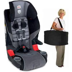 Britax E9LC2H6, Frontier 85 Combination Harness-2-Booster Seat in Rushmore with a car seat Travel Bag