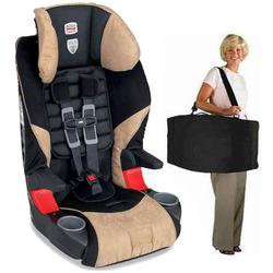 Britax E9LC2M6, Frontier 85 Combination Harness-2-Booster Seat in Canyon with a car seat Travel Bag