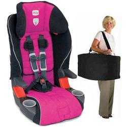 Britax E9LC22S, Frontier 85 Combination Harness-2-Booster Seat in Livia with a car seat Travel Bag