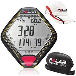 Polar 90042414, CS500cad TDF (Tour deFrance Edition) with Polar Race Hat