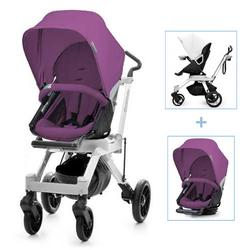 Orbit Baby G2 Color Packed Stroller in Black/Grape
