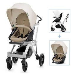 Orbit Baby G2 Color Packed Stroller in Black/Khaki