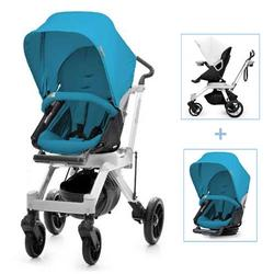 Orbit Baby G2 Color Packed Stroller in Black/Pacific Blue
