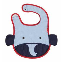 Skip Hop 232107, ZOO tuck-away bibs - Elephant