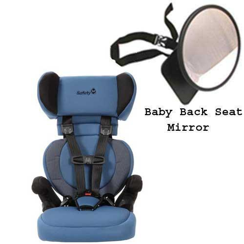 Safety first Safety 1st 22256AHD Go Hybrid Booster Car Seat in Waterloo w  Back Seat Mirror at Sears.com