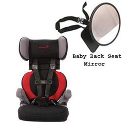 Safety 1st 22256AHE Go Hybrid Booster Car Seat in Baton Rouge w/ Back Seat Mirror