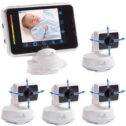 Summer Infant 02000KIT3 BabyTouch Digital Video Monitor with 4 cameras