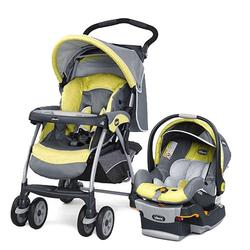 Chicco Cortina Keyfit 30 Travel System, Limonata