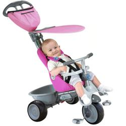 Smart Trike 1911200 Recliner 4 in 1 - Fuschia