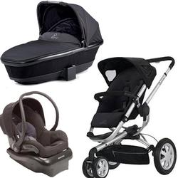 Quinny Buzz 3 Travel System and Bassinet in Black