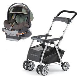 Chicco KeyFit Caddy Stroller with Adventure Cortina Keyfit 30 Infant Car Seat