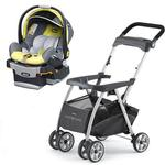 Chicco KeyFit Caddy Stroller with Limonata Cortina Keyfit 30 Infant Car Seat