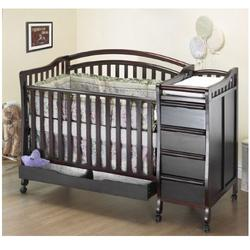 Orbelle 312C Eva Crib N Bed (Cherry)