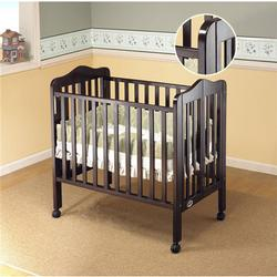 Orbelle 1122ES Tina Three Level Portable Crib - Espresso