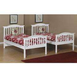 Orbelle TB480-W Twin Bed - White