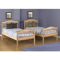 Orbelle TB480-N Twin Bed - Natural