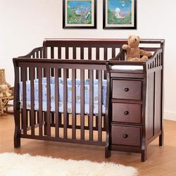 Orbelle M315C Crib N Bed 315 Mini (PORTABLE CRIB SIZE) - Cherry