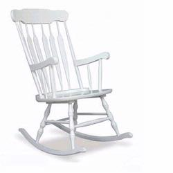 KidKraft 18170 Hill Country Adult Rocking Chair, White