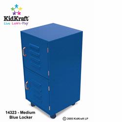 KidKraft 14323 Medium Lockers, Blue