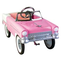 Charm Company 82317, 55 Classic Pink Metal Pedal Car