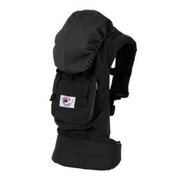 Ergo Baby BCO00101, Organic Black Carrier - Solid Black Lining